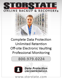 StorState Online Backup & Recovery - complete data protection, retention, off-site vaulting, monitoring